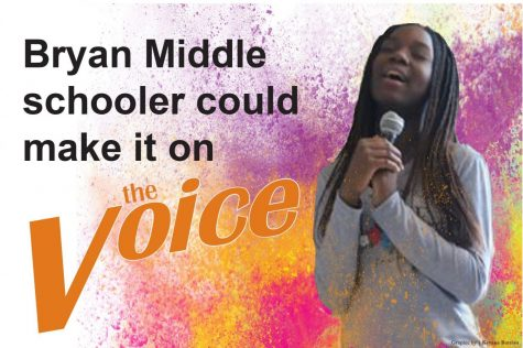 Bryan middle schooler could make it on The Voice