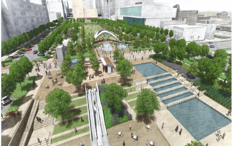 Downtown Omaha begins revitalization work, students look forward to changes