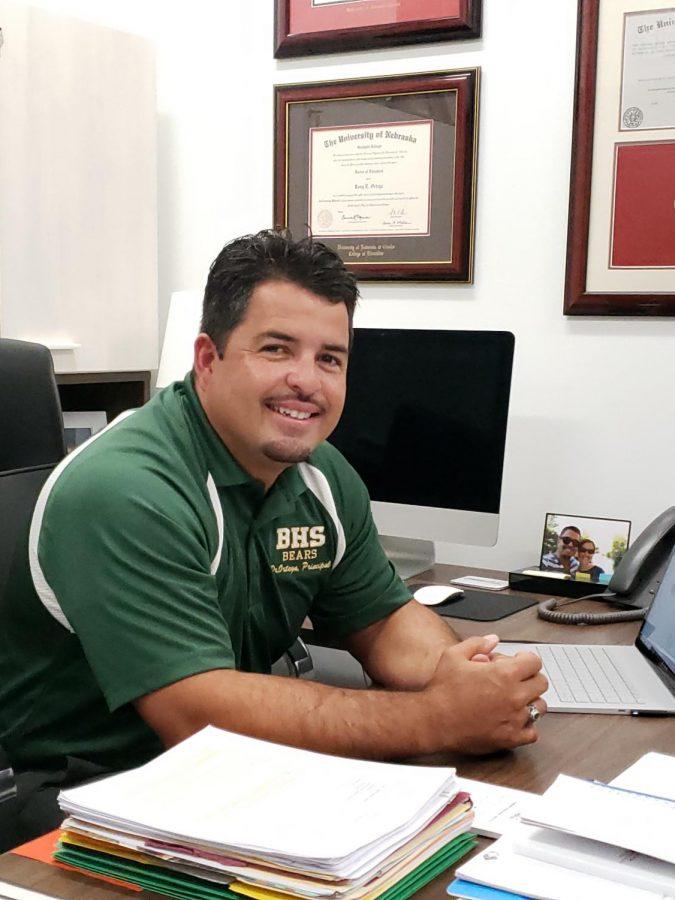 New look, new principal, new goals
